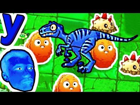 ПРоХоДиМеЦ и необычная стратегия Растений для Мира Динозавров! #740 Игра для Детей
