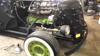Dads 1940 Ford Rat Rod Update #2