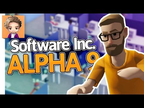 Software Inc: Alpha 9 | PART 2 | NEW DEV STUDIO