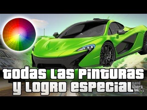 GTA V Online - Desbloquear todas las Pinturas y Logro especial 30G | Glitch GTA
