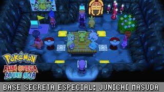 Base Secreta Especial: Junichi Masuda ~ Pokémon Rubí Omega & Zafiro Alfa