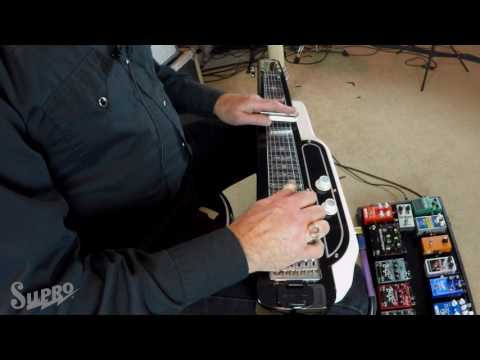 "Supro Jet Airliner Lap Steel Demo #5 ""Western Swing and Hawaiian Noises"" by Gary Morse"