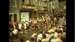 Naumburg   Saale, 1978  950 Jahrfeier, Szenen vom Festumzug
