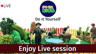 RIM RIM KIDS Live Stream - Do it yourself activities