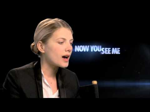 """Melanie Laurent's Official """"Now You See Me"""" Interview - Celebs.com"""