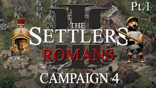 The Settlers 3 - Romans 4 - part 1