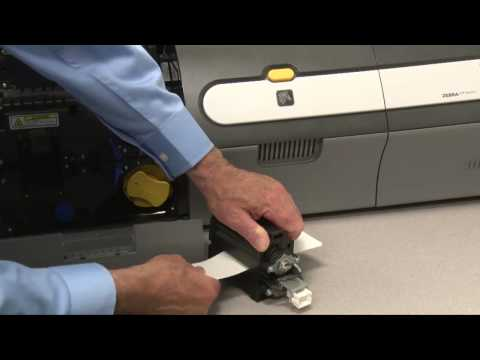 Clean Laminator Oven on the Zebra ZXP Series Printer