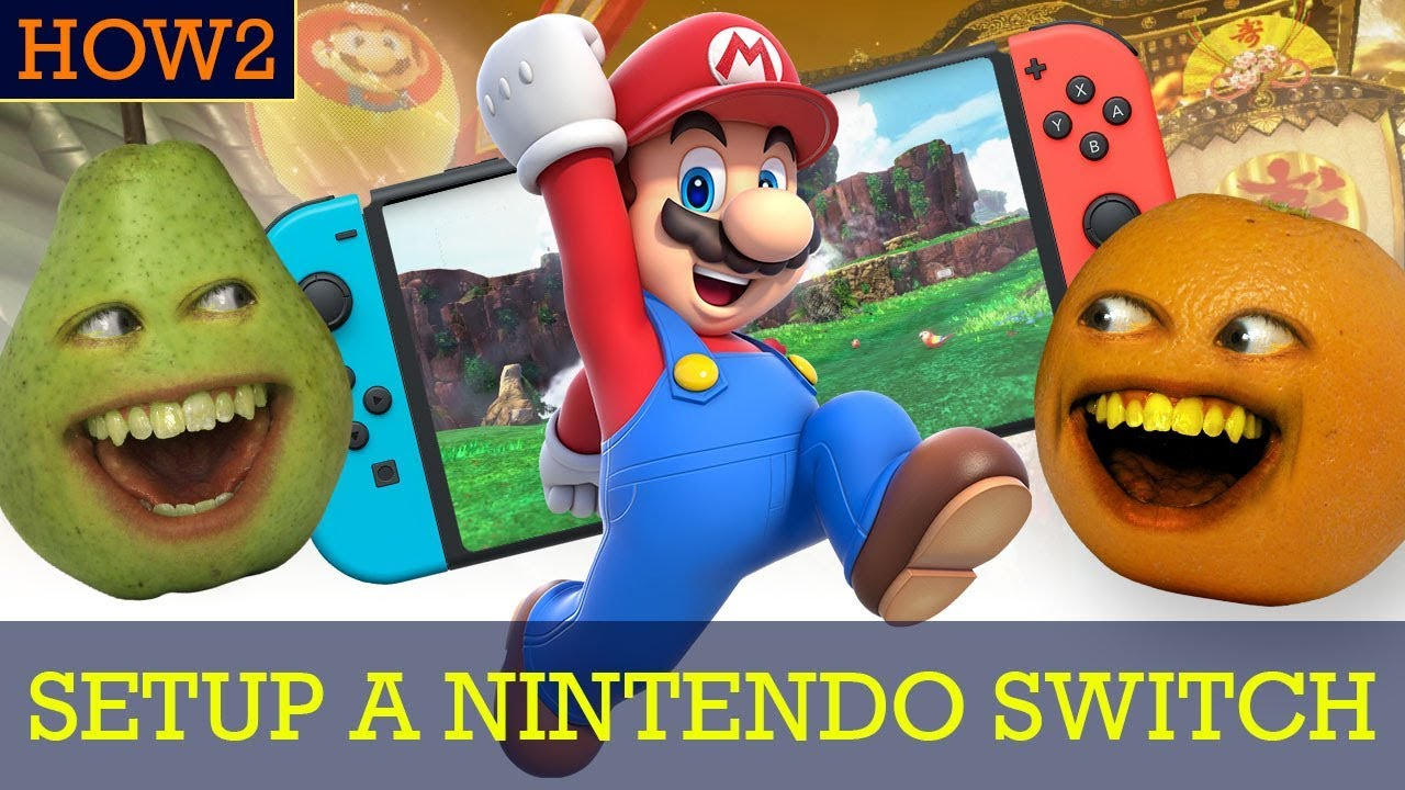 HOW2: How to Set Up a Nintendo Switch