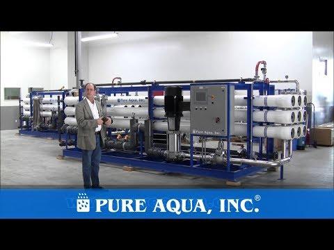 Industrial Brackish Reverse Osmosis Plants Egypt 2 x 410,000 GPD | www.PureAqua.com