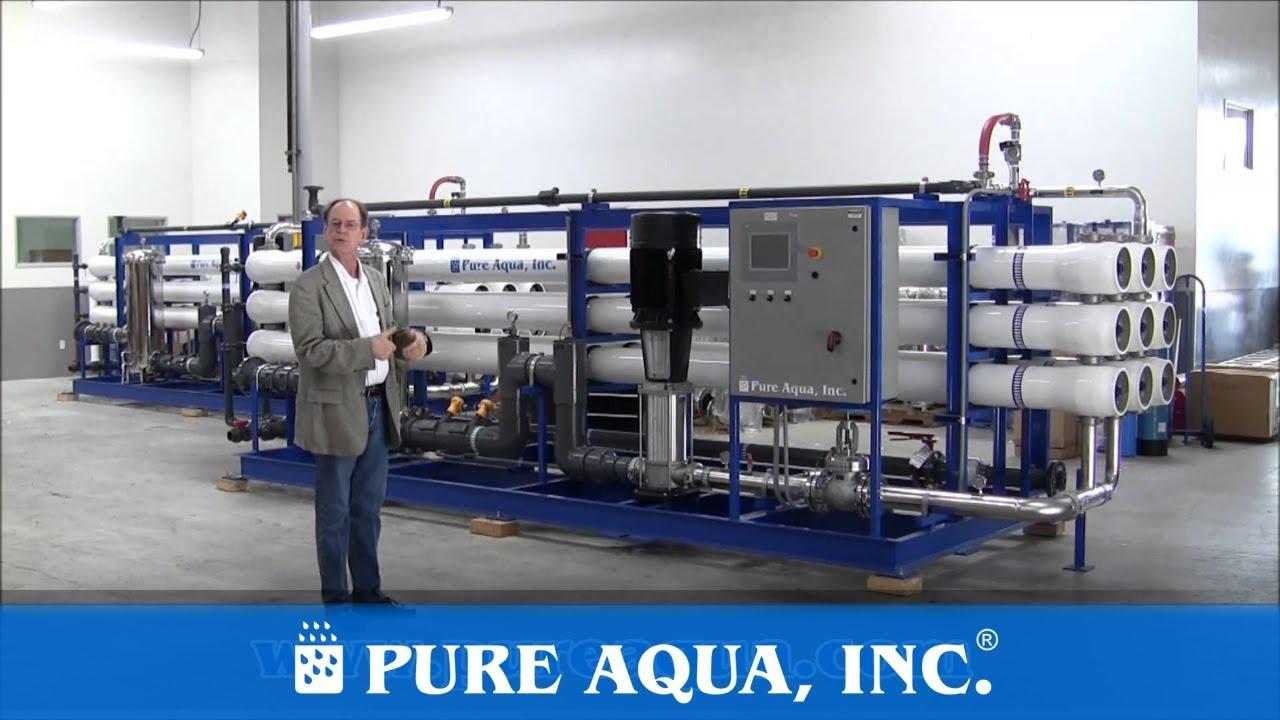 Industrial Brackish Reverse Osmosis Plants Egypt 2 x 410 000 GPD