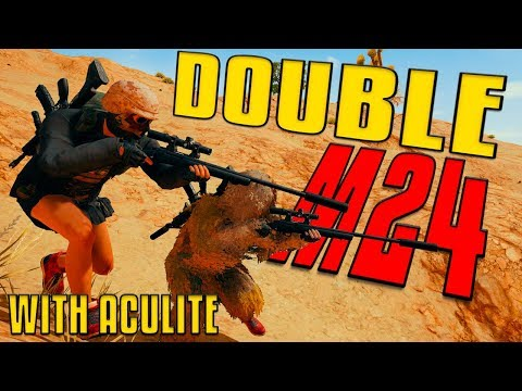 Double Suppressed M24 | PUBG