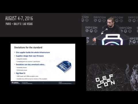 DEF CON 24 - Jonathan Christofer Demay - Auditing 6LoWPAN Networks using Standard Tools