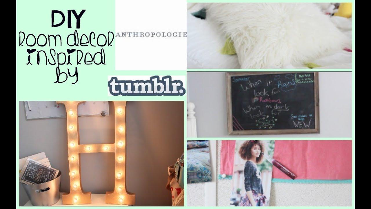 diy anthropologie  tumblr room decor  room update, Bedroom decor