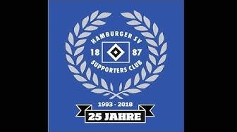 Herzlichen Glückwunsch, Supporters Club! | 25 Jahre HSV SC