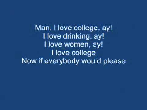 Asher Roth- I Love College with lyrics