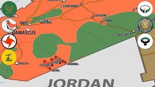 11 августа 2017. Военная обстановка в Сирии. Обстрел спецназа американцев, потери сил во главе с США