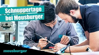 Schnuppertage bei Meusburger