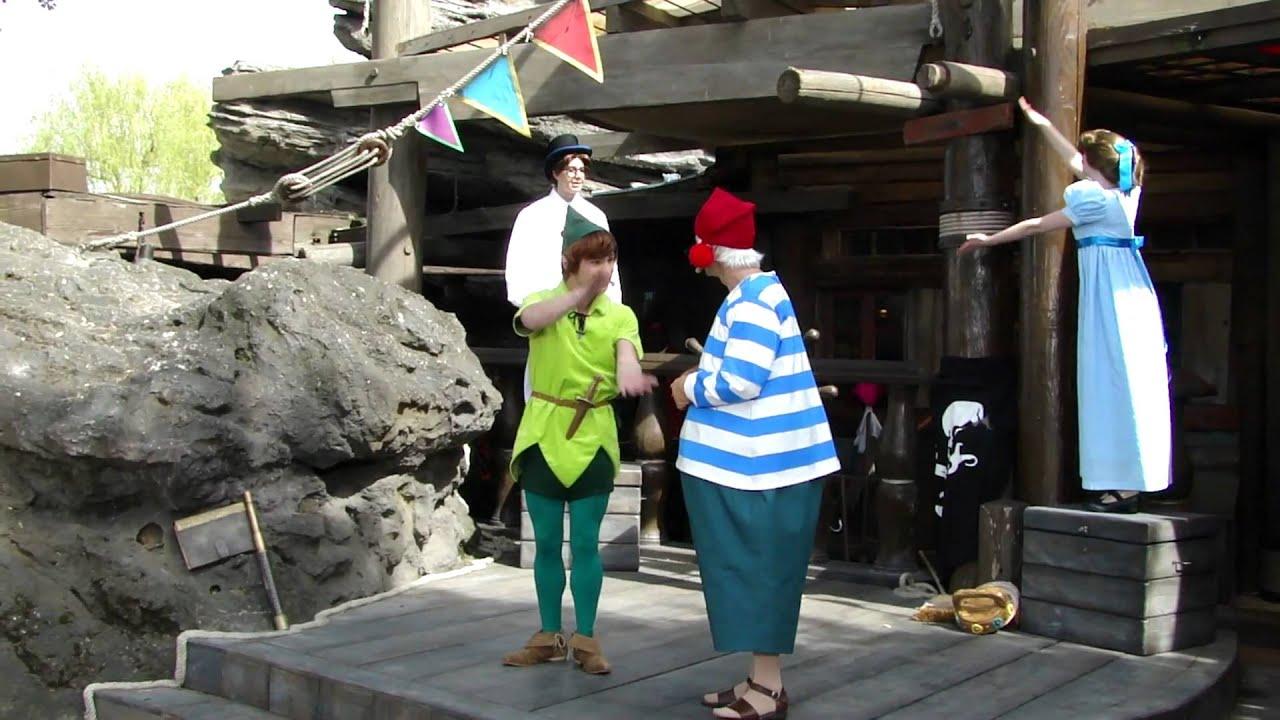 Disney Magical Moments Peter Pan Show - YouTube