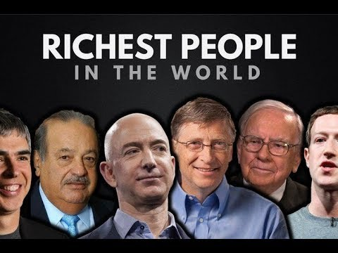 Who is the richest man in the world ? 2018