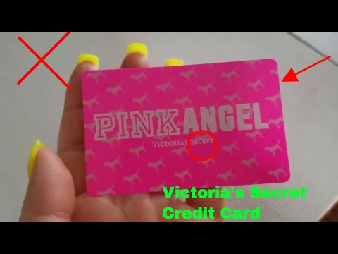 ✅  Victoria's Secret Pink Angel Credit Card Review 🔴