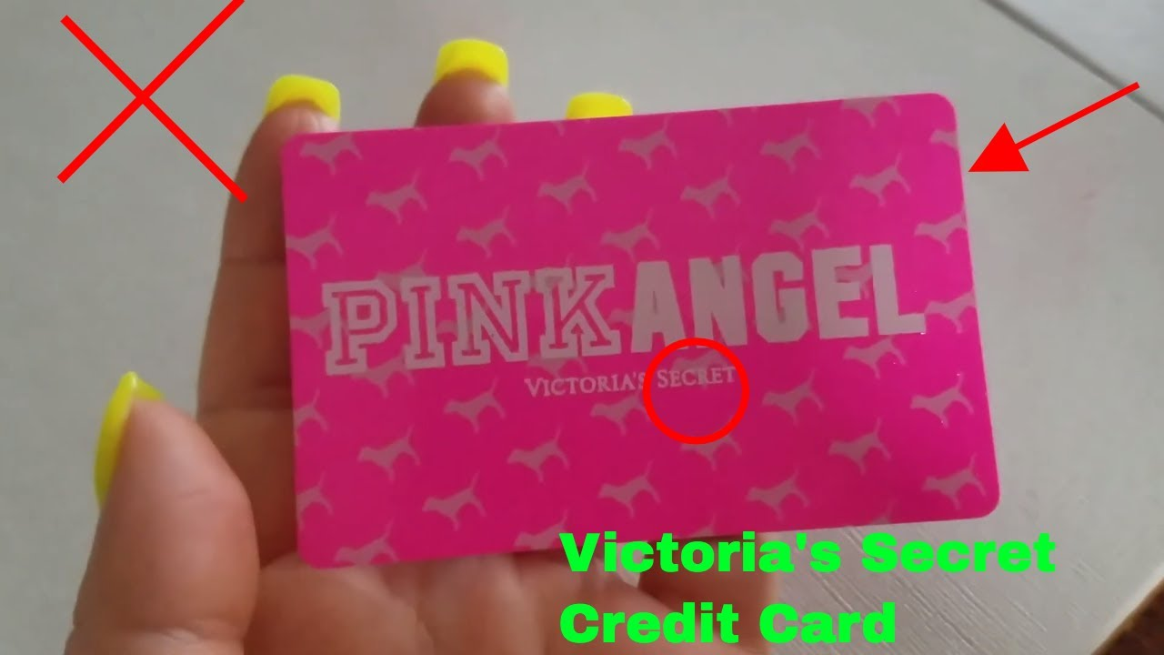 320d37d11a ✅ Victoria s Secret Pink Angel Credit Card Review 🔴 - YouTube