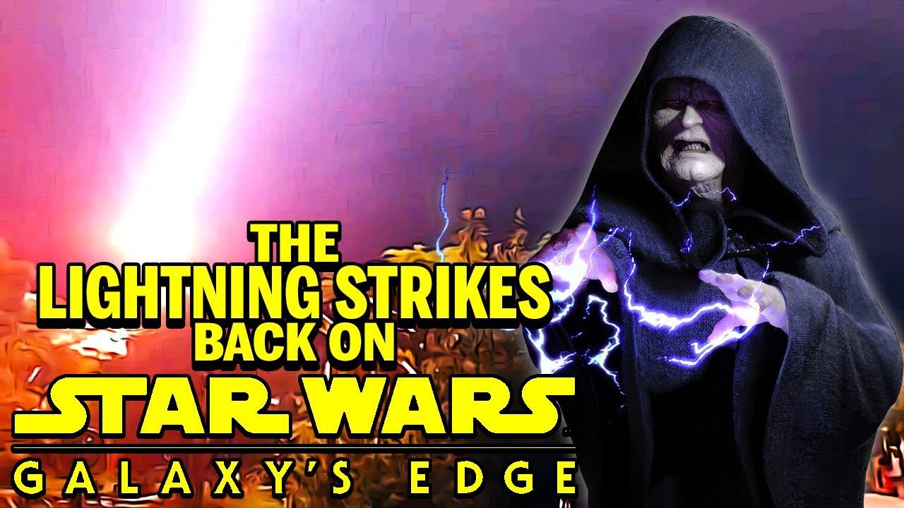 Lighting Strikes Galaxy's Edge | Palpatine doesn't like Disney Star Wars