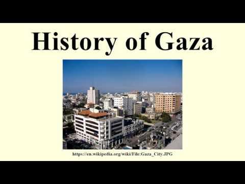 History of Gaza