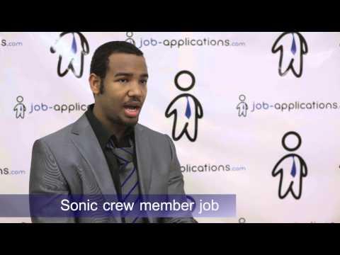 SONIC Drive-In Interview - Crew Member