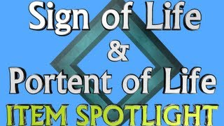 Item Spotlight - Sign of Life & Portent of Life - Runescape 3