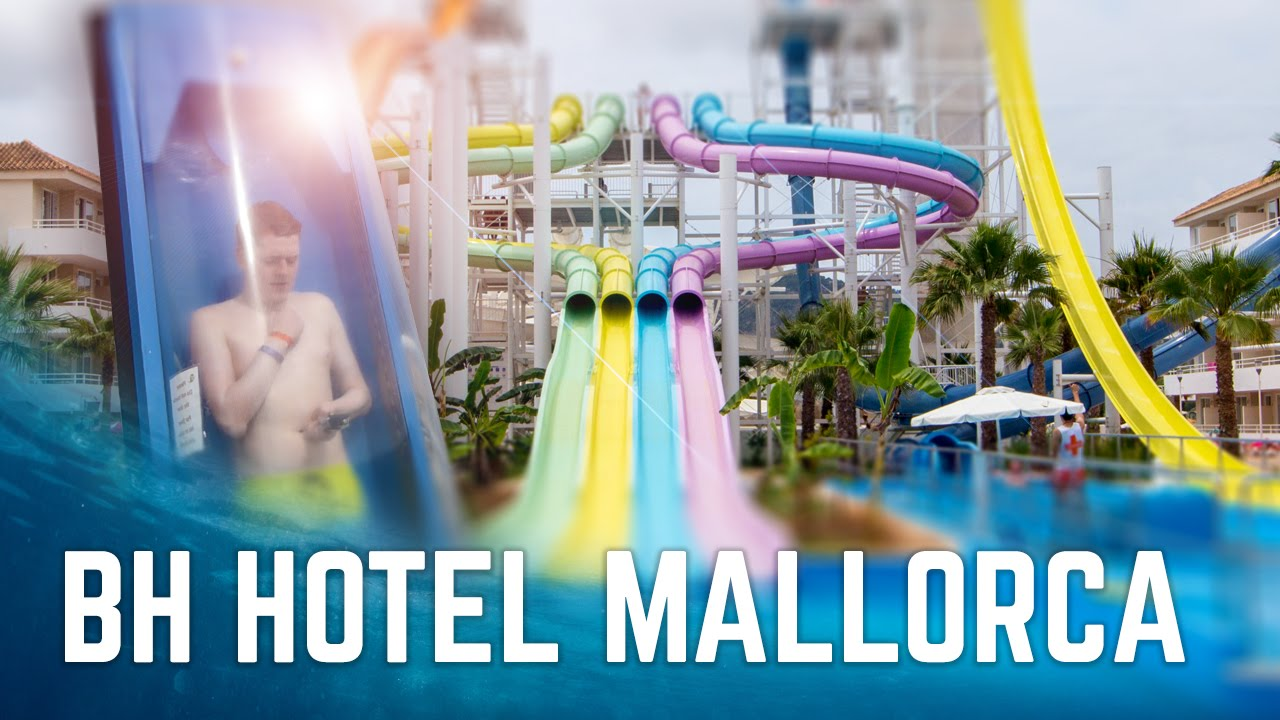 All Water Slides At Bh Hotel Mallorca World S First 18 Waterpark You