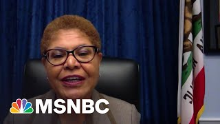 Rep. Karen Bass: Have To Stop Culture Of 'Us Vs. Them' In Policing | MTP Daily | MSNBC