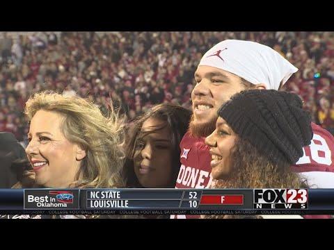 VIDEO - OU scores senior night win over Kansas
