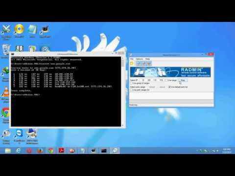 hack pc using cmd promt and port scanner