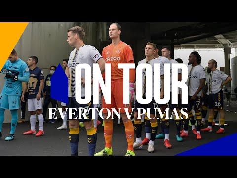 ON TOUR: EVERTON V PUMAS | BLUES FACE CLUB UNIVERSIDAD NACIONAL AT FLORIDA CUP