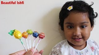 Funny Toddler Finger Family Nursery Rhymes and Lollipop | Beautiful Ishfi