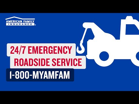 Emergency Roadside Assistance | @AmFam®