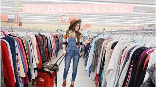 THRIFT WITH ME// tips&a haul
