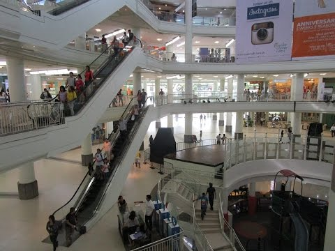 AYALA MALL ~ Globe Telecom, Games, Stores and more ~ Cebu City, Philippines (video 3)