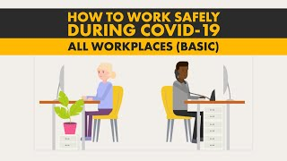 How to work safely in all workplaces during coronavirus (COVID-19)