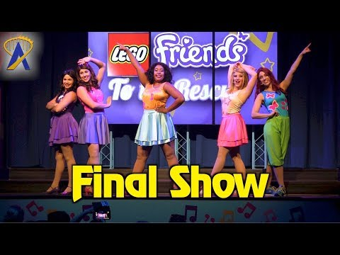 Final Lego Friends to the Rescue show at Legoland Florida Resort