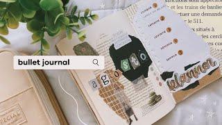 PLANEA CONMIGO AGOSTO - bullet journal 🤍