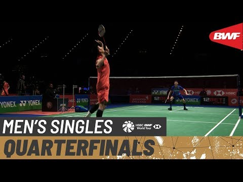 QF | MS | LEE Zii Jia (MAS) vs. CHEN Long (CHN) [3] | BWF 2020