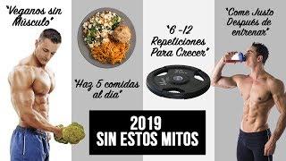 4 MITOS FITNESS QUE DEBEN QUEDAR EN EL PASADO