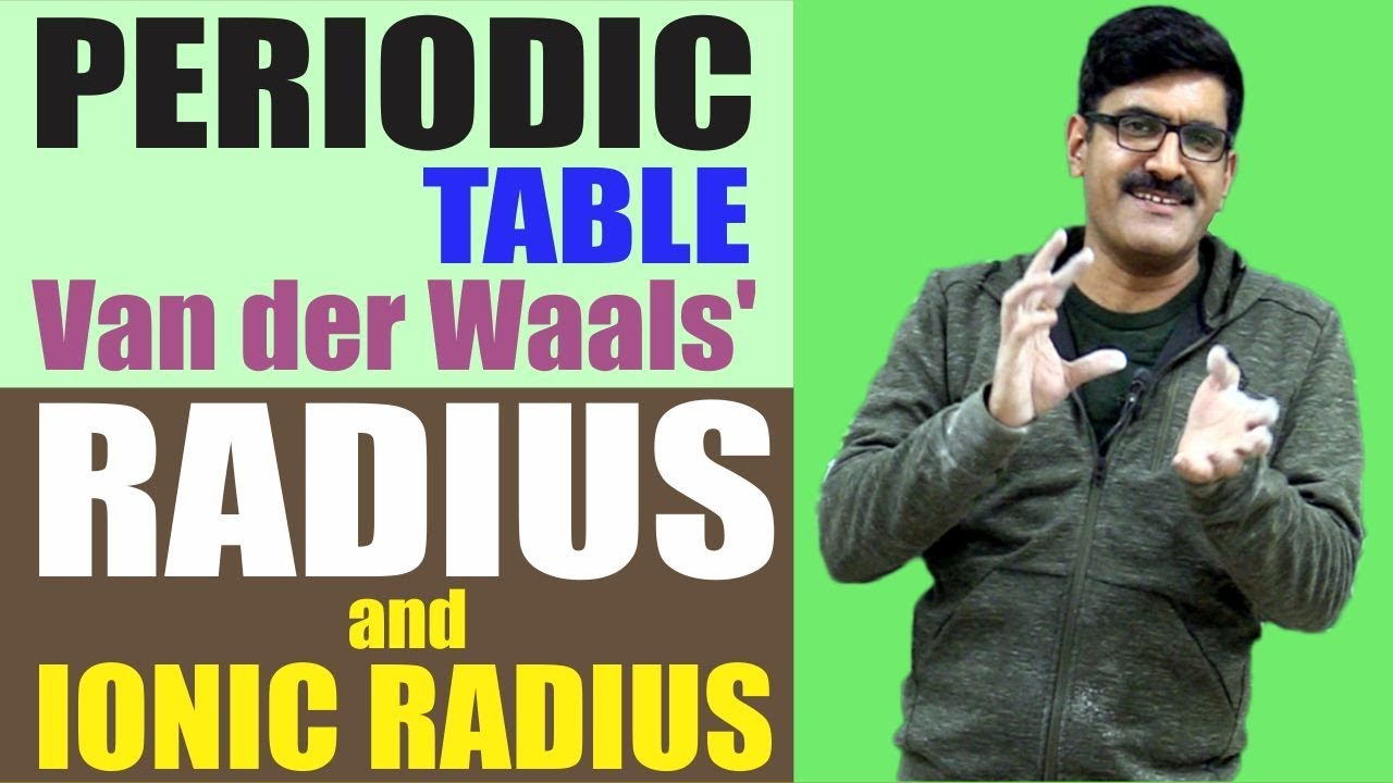 periodic table van der waals 39 radius and ionic radius. Black Bedroom Furniture Sets. Home Design Ideas