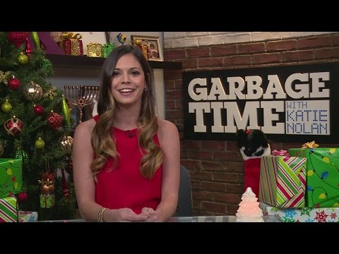 Katie Nolan Opens Holiday Gifts from Her Producers