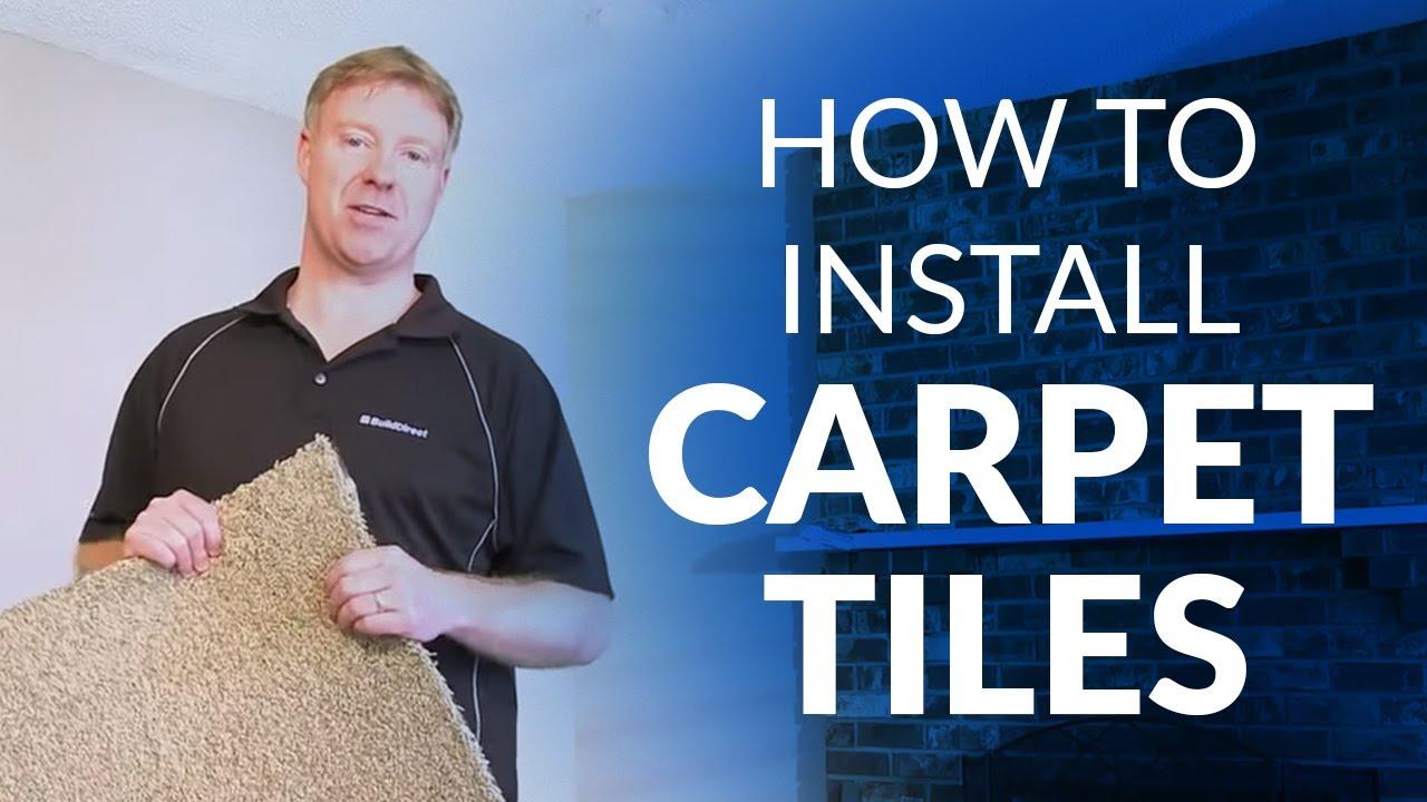 Can You Install Carpet Tiles On A Bat Floor Carpet
