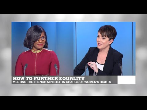 How to further equality: Meeting the French minister responsible for women's rights