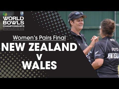 Women's Pairs Final | New Zealand v Wales