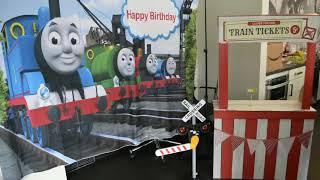 Thomas Themed Birthday Party