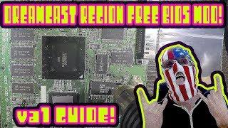 Dreamcast Bios Mod Install Guide! VA1 REGION FREE MOD!